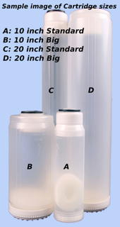 10 inch Standard Deionizing Water Filter Cartridge