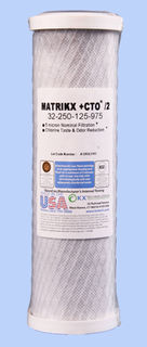RO Replacement 2nd stage Carbon Cartridge - MATRIKX CTO/2®
