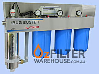 UV Water Steriliser - Bug Buster Alpine Series - Platinum
