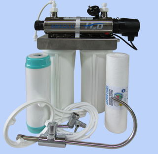 Viqua H₂O UV1 Under Sink UV Steriliser System with Filters