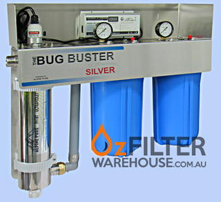 UV Water Steriliser - Bug Buster Alpine Series - Silver