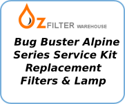 The Bug Buster Alpine Series Service Kits