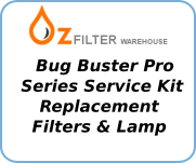 The Bug Buster Pro Series Service Kits