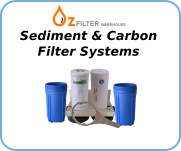 Sediment & Carbon Water Filter Systems