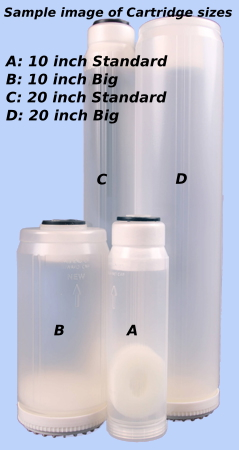 10 inch Big / Jumbo Deionizing Water Filter Cartridge
