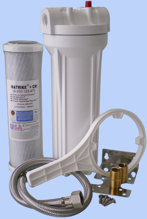 Water Filter Inline to Kitchen Faucet CR 1