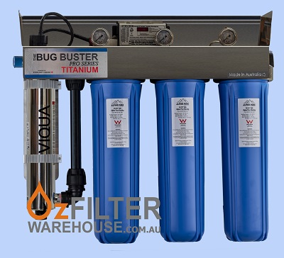 UV Water Steriliser - Bug Buster Pro Series - Titanium