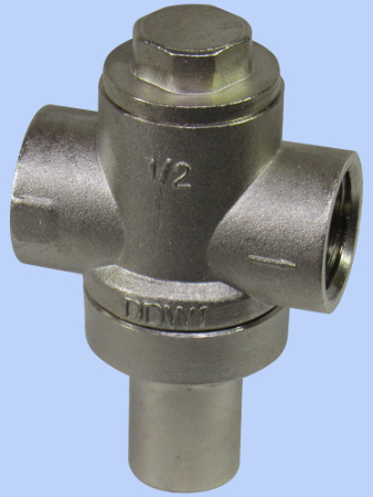 Stainless Steel Pressure Limiting Valve, ½